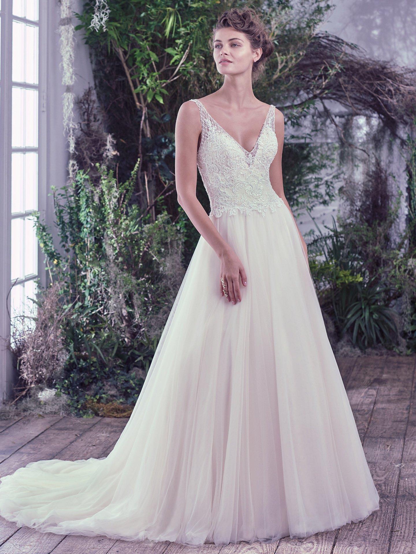 Maggie Sottero Jovanna Main Designer Dress Lufi Made