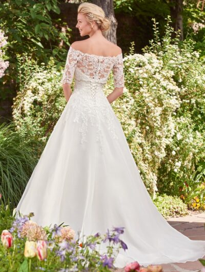 Wedding dresses archives eve 39 s bridal wear for Maggie sottero grace kelly wedding dress